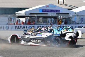 Jose Maria Lopez, Dragon Racing, Penske EV-3, gira di lato