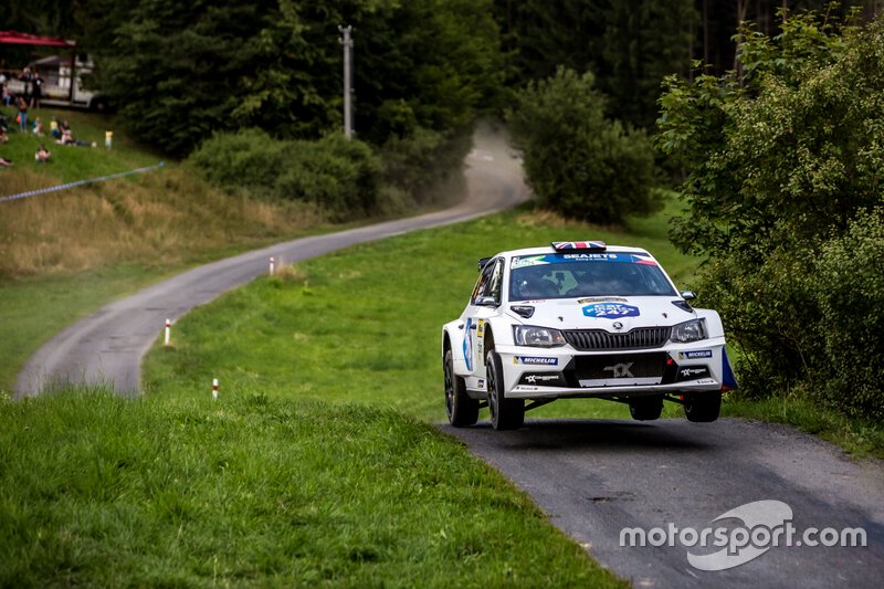 Chris Ingram, Ross Whittock, Skoda Fabia R5, Barum Czech Rally Zlin, FIA ERC