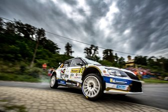 Филип Мареш и Ян Глоушек, ACCR Czech Rally Team I, Skoda Fabia R5