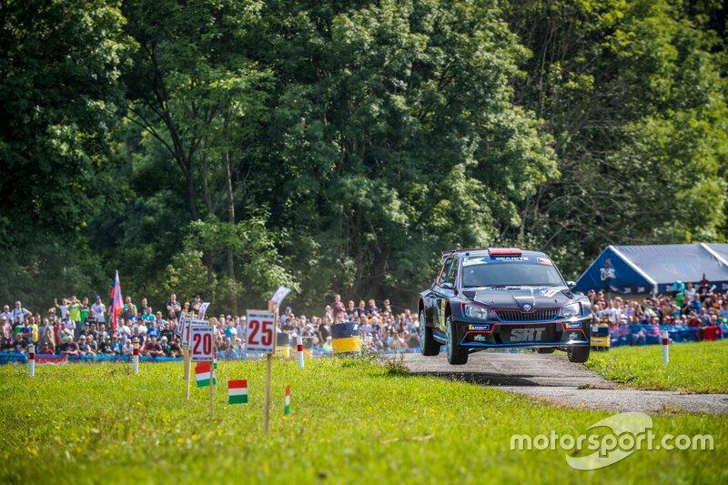 Nikolay Gryazin, Yaroslav Fedorov, Skoda Fabia R5, Barum Czech Rally Zlin, FIA ERC