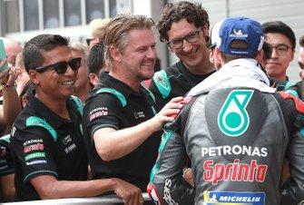 Razlan Razali, Johan Stigefelt, Fabio Quartararo, Petronas Yamaha SRT
