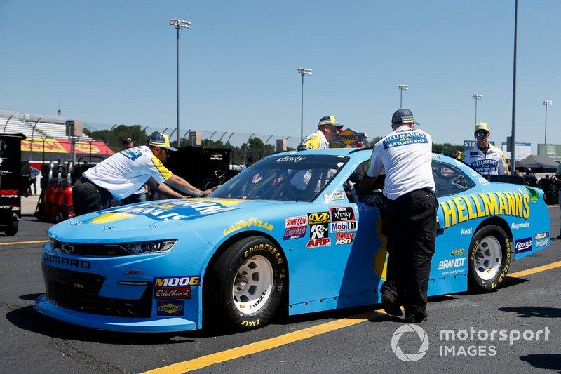 Dale Earnhardt Jr., JR Motorsports, Chevrolet Camaro Hellmann's
