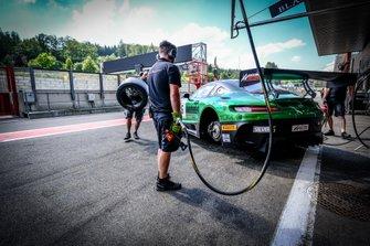 #6 BLACK FALCON Mercedes-AMG GT3: Hubert Haupt, Patrick Assenheimer, Gabriele Piana