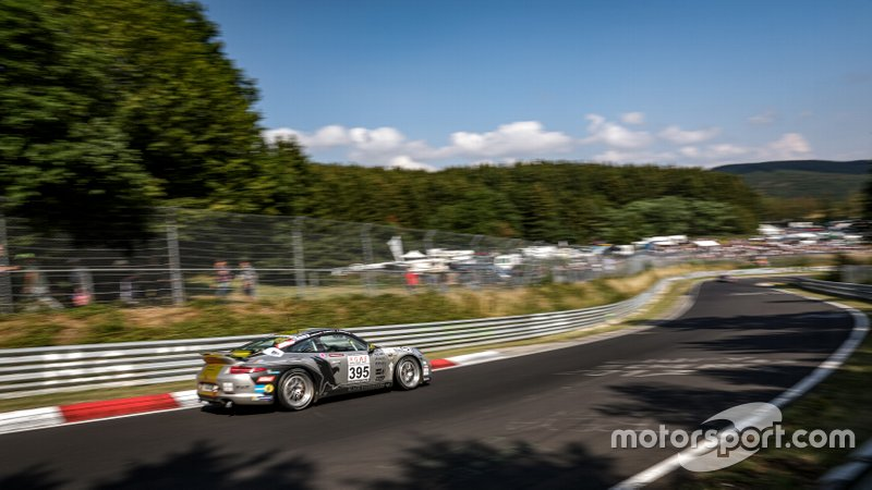№ 395 № 57 Black Falcon Racing, Porsche 991 Carrera: Александр Акименков, Ронни Летмейт, Василий Селиванов