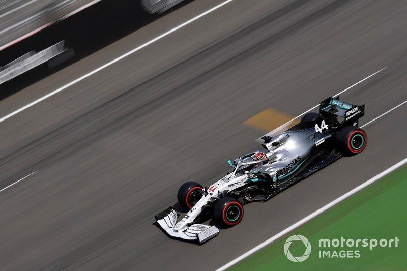 Allemagne - Lewis Hamilton, Mercedes W10