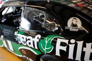 Justin Haley, Kaulig Racing, Chevrolet Camaro LeafFilter Gutter Protection Nick Harrison
