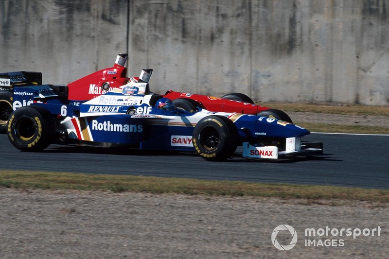 Jacques Villeneuve, Williams, al GP del Giappone del 1996
