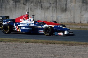 Jacques Villeneuve, Williams FW18, Eddie Irvine, Ferrari F310