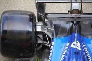 McLaren MCL34, rear detail