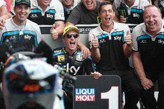 Il vincitore della gara Luca Marini, Sky Racing Team VR46