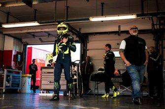 Valentino Rossi is testing the Kessel Racing Ferrari 488 GT3