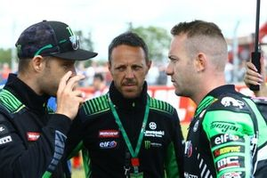 Jonathan Jonathan Rea, Kawasaki Racing Team, Lucas Mahias, Kawasaki Puccetti Racing