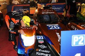Yarış galibi #26 G-Drive Racing Aurus 01 Gibson: Roman Rusinov