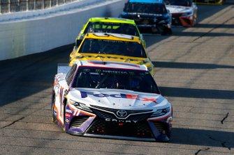 Denny Hamlin, Joe Gibbs Racing, Toyota Camry FedEx Express and Erik Jones, Joe Gibbs Racing, Toyota Camry STANLEY