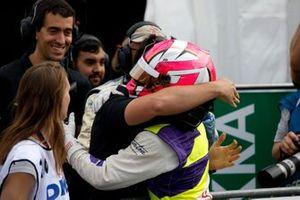 Race winner Marta Garcia