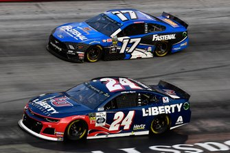 William Byron, Hendrick Motorsports, Chevrolet Camaro Liberty University and Ricky Stenhouse Jr., Roush Fenway Racing, Ford Mustang Fastenal