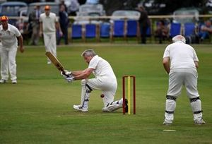 Partido de Cricket Tiff Needell