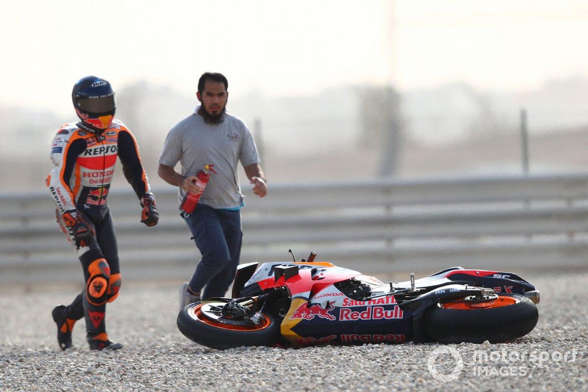 Pol Espargaro, Repsol Honda Team dopo la caduta