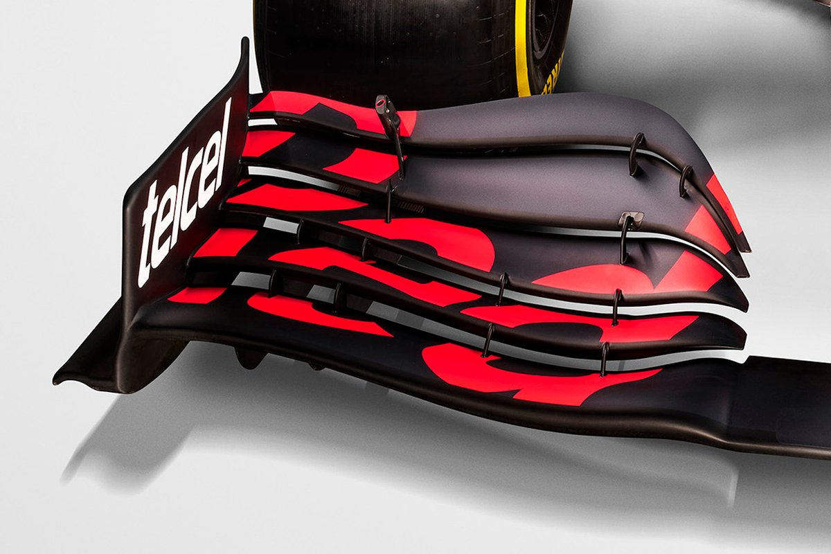 Red Bull Racing RB16B ön kanat detayı