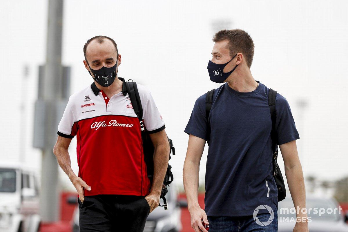 Robert Kubica, Alfa Romeo y Daniil Kvyat, AlphaTauri
