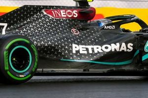 Mercedes F1 W11 detail