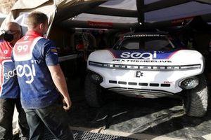 L'Odyssey 21 de Segi TV Chip Ganassi Racing dans les stands