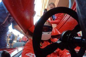 Jean Alesi, Ferrari 312 B3 de 1974