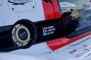 Details, #7 Toyota Gazoo Racing Toyota GR010 - Hybrid: Mike Conway, Kamui Kobayashi, Jose Maria Lopez