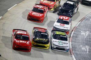 Jeffrey Earnhardt, JD Motorsports, Chevrolet Camaro TeamJDMotorsports.com, Justin Haley, Kaulig Racing, Chevrolet Camaro LeafFilter Gutter Protection