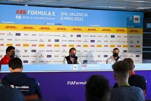 Dilbagh Gill, Mahindra Racing, Sylvain Filippi, Envision Virgin Racing, Amiel Lindesay, Tag Heuer Porsche