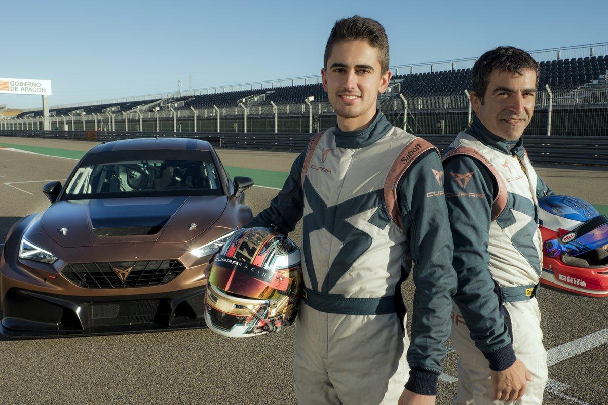 Mikel Azcona, Jordi Gené, Cupra Racing, Cupra Leon Competicion TCR