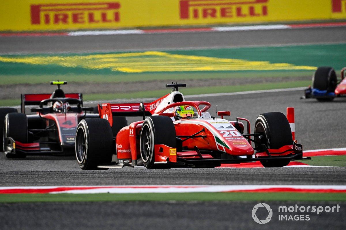 Mick Schumacher, Prema Racing e Callum Ilott, UNI-Virtuosi