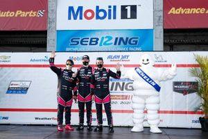 #60 Meyer Shank Racing w/Curb-Agajanian Acura DPi, DPi: Dane Cameron, Olivier Pla, Juan Pablo Montoya, Driver introductions