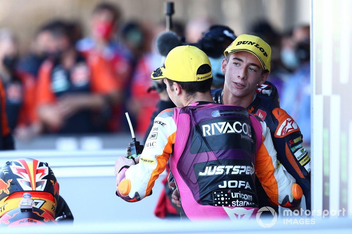 Pedro Acosta, Red Bull KTM Ajo, Andrea Migno, Rivacold Snipers Team