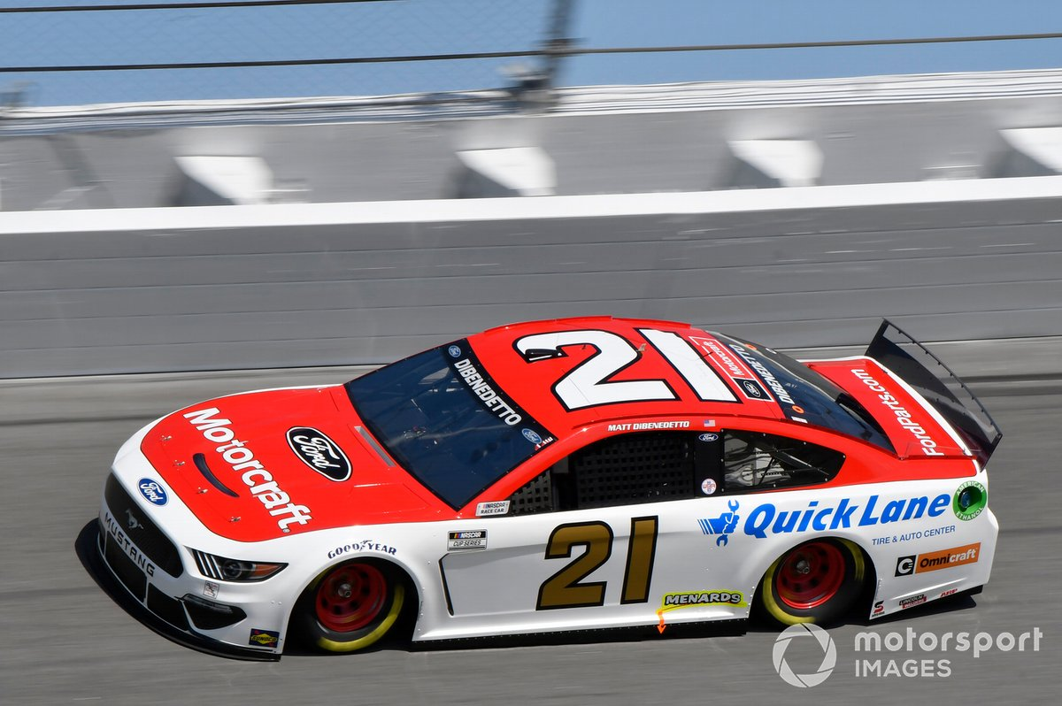 #21: Matt DiBenedetto, Wood Brothers Racing, Ford Mustang
