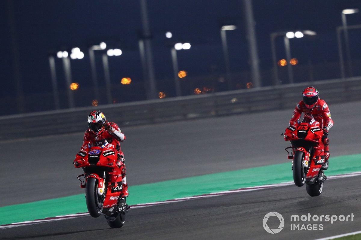 Jack Miller, Ducati Team Francesco Bagnaia, Ducati Team