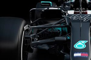Mercedes AMG F1 W12 front suspension detail