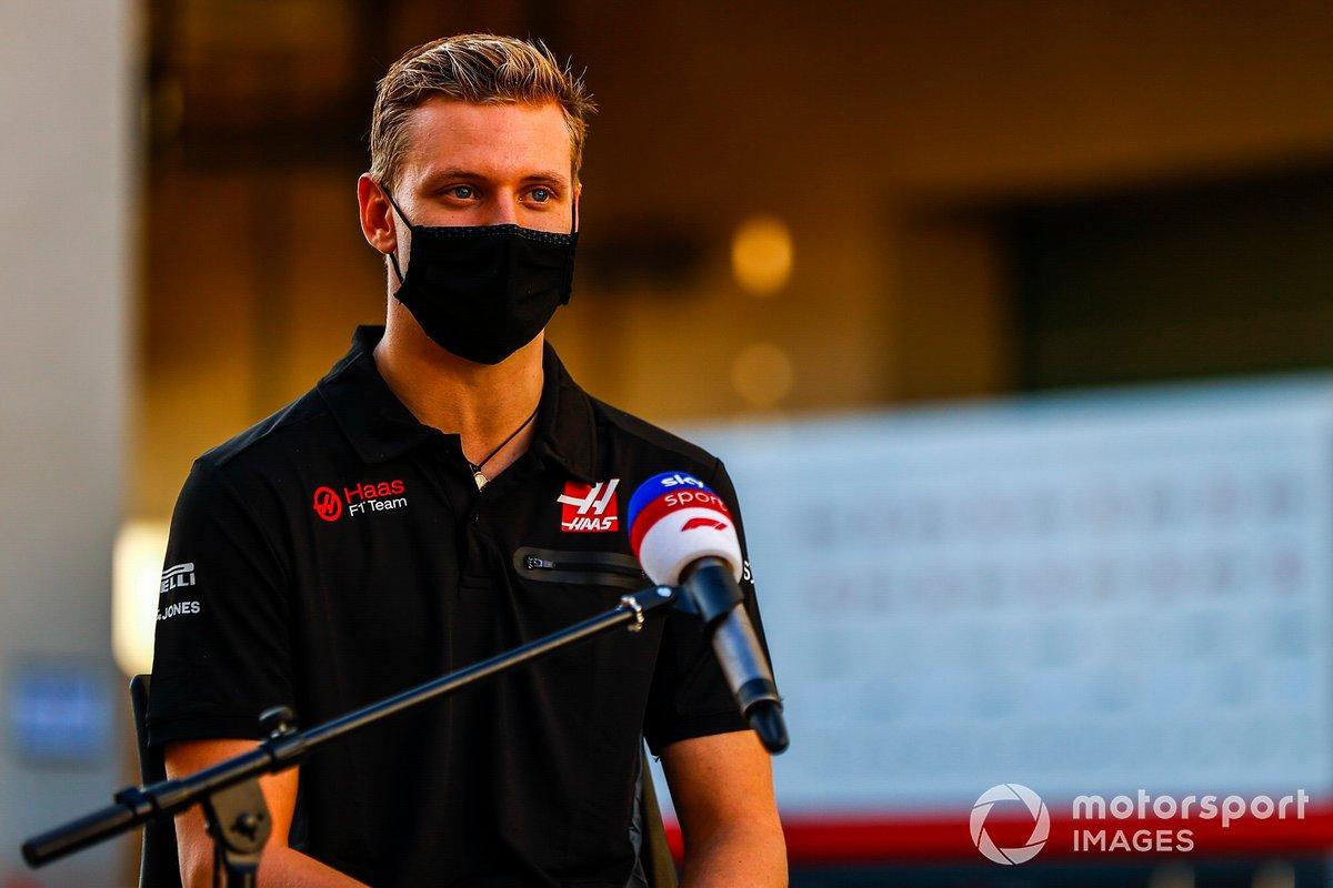 Mick Schumacher, Haas F1, intervistato da Sky Sports F1