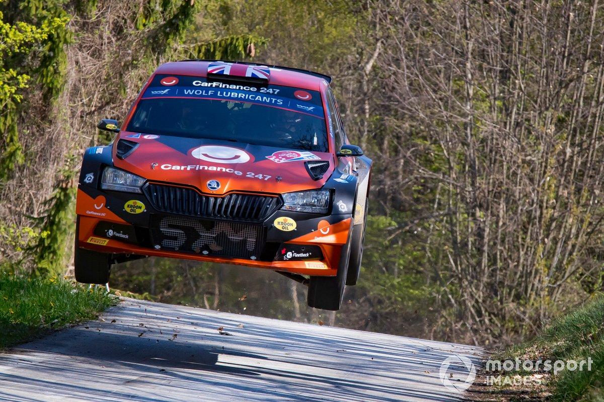 Chris Ingram, Ross Whittock, Skoda Fabia Evo Rally2