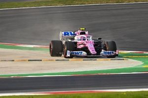 Lance Stroll, Racing Point RP20, leaves the circuit