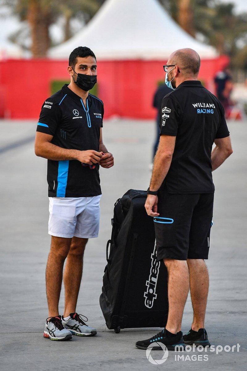 Roy Nissany, piloto de pruebas de Williams Racing