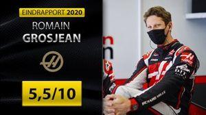 Eindrapport Formule 1 2020: Romain Grosjean, Haas