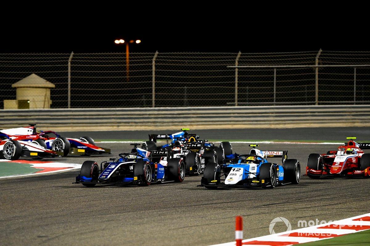 Guanyu Zhou, Uni-Virtuosi Racing, Lirim Zendeli, MP Motorsport, Oscar Piastri, Prema Racing, Christian Lundgaard, ART Grand Prix