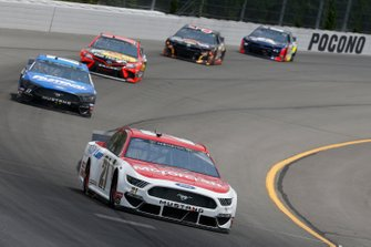 Paul Menard, Wood Brothers Racing, Ford Mustang Motorcraft / Quick Lane Tire & Auto Center Ricky Stenhouse Jr., Roush Fenway Racing, Ford Mustang Fastenal