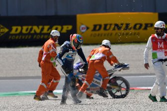 La chute de Gabriel Rodrigo, Gresini Racing