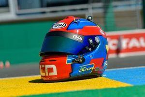 #28 TDS Racing Oreca 07 Gibson: Loic Duval helmet
