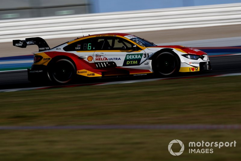 Шелтон ван дер Лінде, BMW Team RBM, BMW M4 DTM