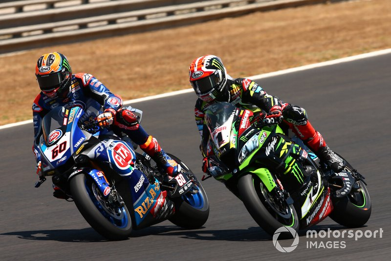 Michael van der Mark, Pata Yamaha supera Jonathan Rea, Kawasaki Racing