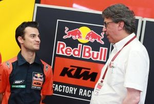 Dani Pedrosa, Red Bull KTM Factory Racing Test Rider, Stefan Pierer, CEO KTM Group