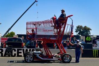 Motorisierter Einkaufswagen